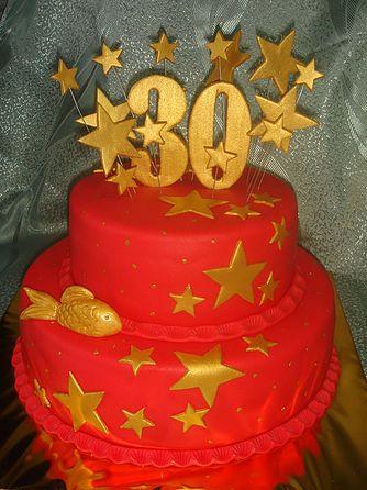 торт на 30 лет-фото