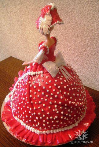 Торт Кукла Барби детские торты, для мальчиков, девочек, на день рождения заказать в киеве, купить недорого, с доставкой