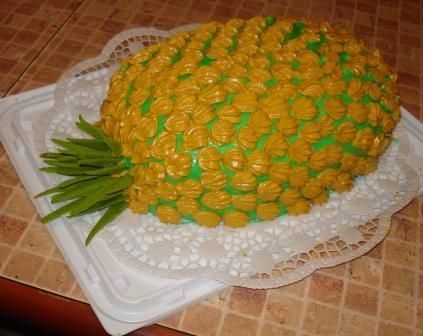 Как сделать ананасовый торт