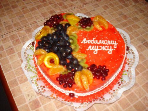 Как украсить торт на день рождения парню