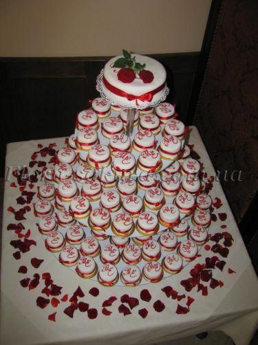 Свадебные торты пирожные доставка по
