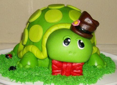 Торт на заказ уставшая черепаха 1369 00