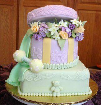 Фото торт на заказ шкатулка с цветами