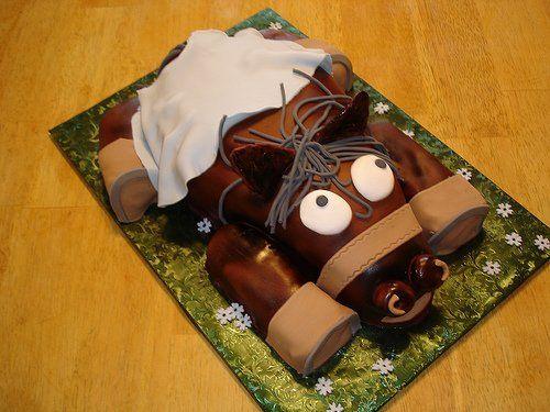 как готовить торт лошадь фото