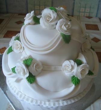 Торты на свадьбу своими руками