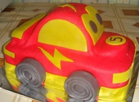 Торт машинка бип торты детям торты