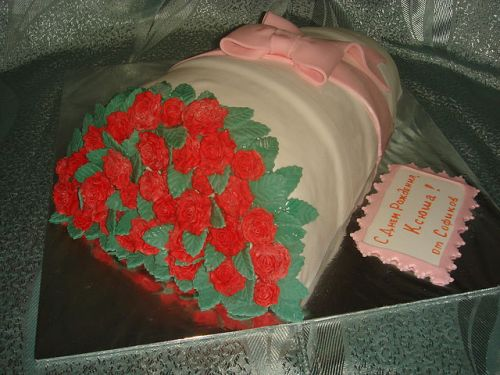 Самый красивый торт на заказ москва