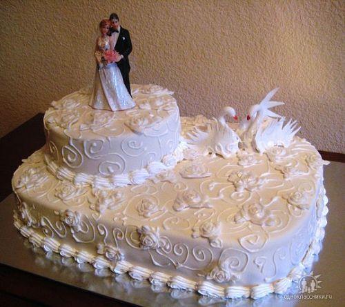 Свадебные торты на заказ с фото тортов, цены на заказ