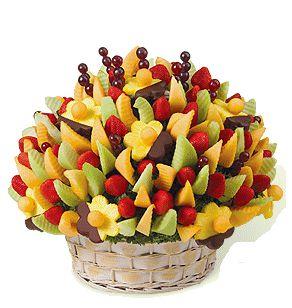 Доставка фруктового букета в офис в Киеве - Флора-Сакура