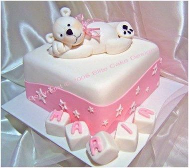Дитячы тортики на фото