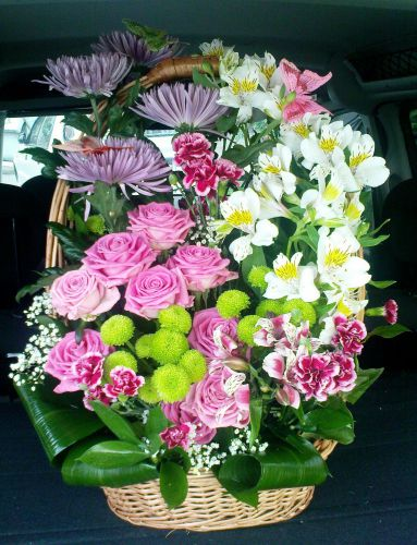 Доставка корзины цветов Киев - купить онлайн