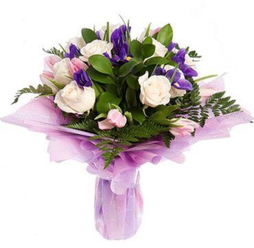 Букеты заказать недорого сиреневые розы купить спб