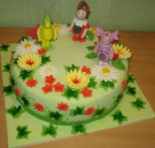 Маковый торт с киви выпечка вкусные