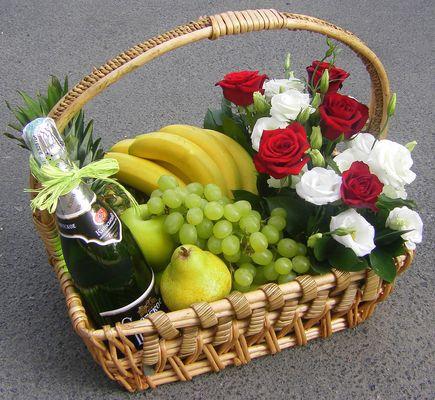 фрукты подарок фото