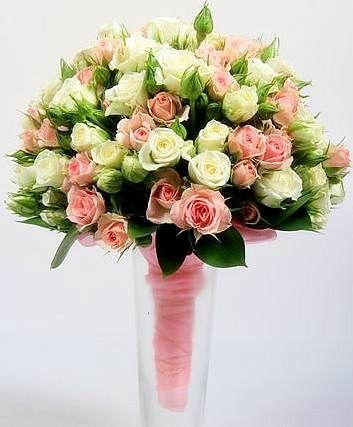 Свадебный букет заказать ки подарок маме на юбилей 50 лет