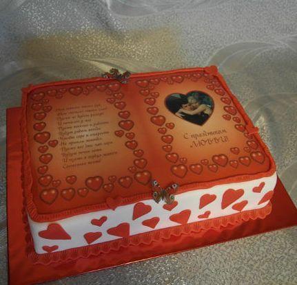 Фото торты на заказ любимому