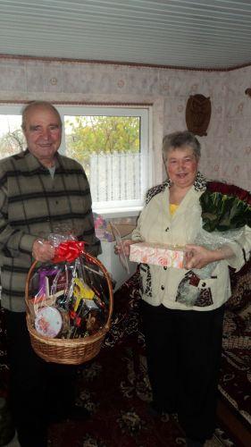 Доставка подарков, поздравлений бабушке и дедушке в Киеве