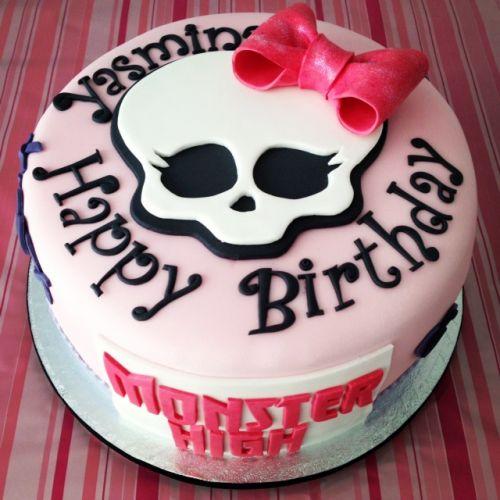Торт для девочек Монстер Хай