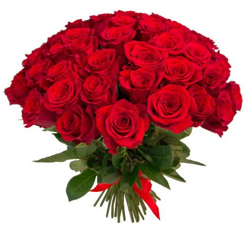 Доставка красных роз в офис - Флора-Сакура