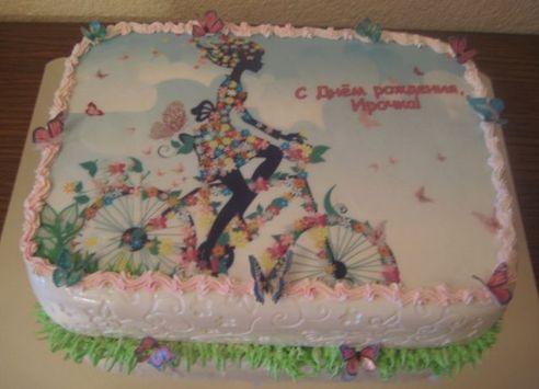 Срочный заказ торта на День Рождения в Киеве