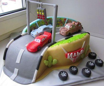 Оригинальный торт для мальчика