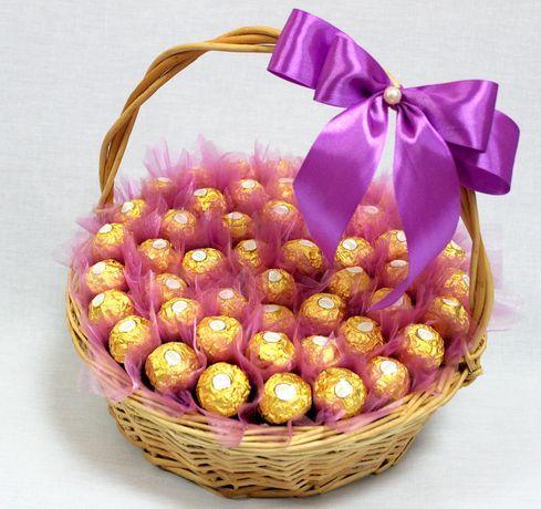 Букет с конфет своими руками купить