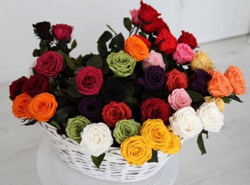 Шикарный букет роз самой прекрасной женщине
