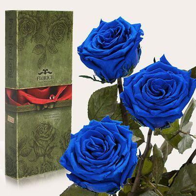 Доставка синих роз Киев секретно от Флора-Сакура