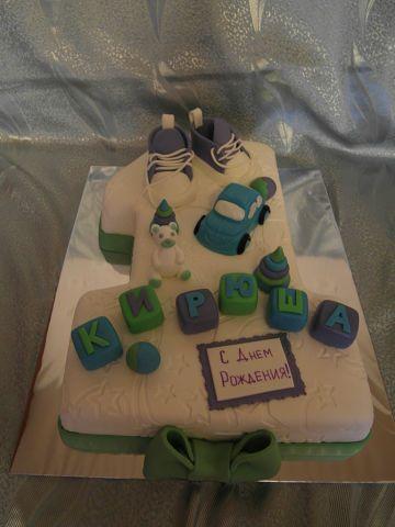 Детский торт на 1 годик веселый 1248 00 uah