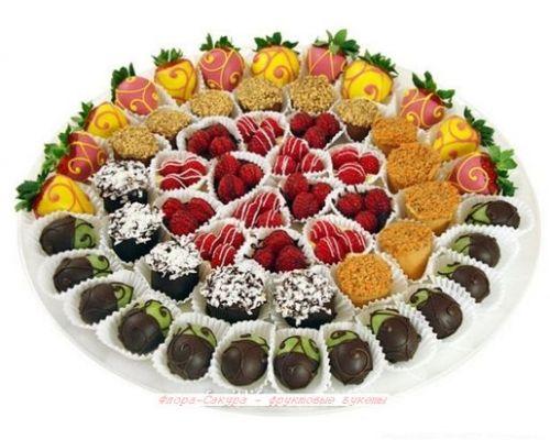 Купить фруктовый подарок в Киеве с дсотавкой