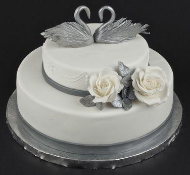 фото торт на 25 лет свадьбы