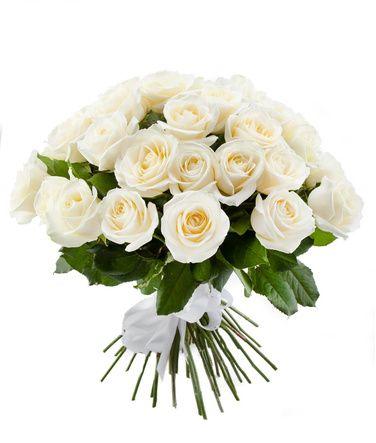 Заказ и доставка белых роз Кременчуг