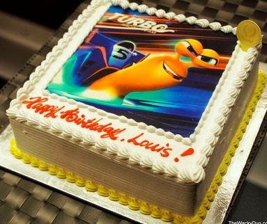 фото тортов с изображением улитки турбо