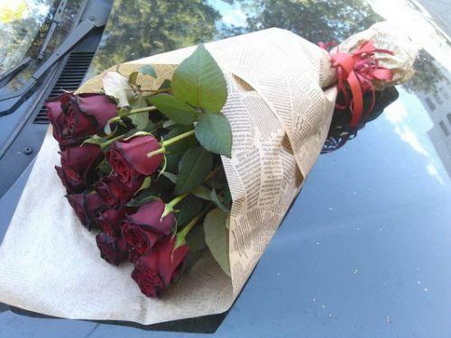 Букеты цветов газета